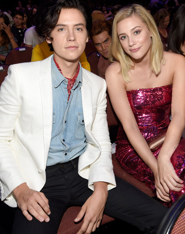 Lili Reinhart is suffering for Cole Sprouse's art and the results are worth it